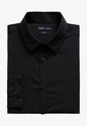 SUPER SLIM-FIT - Camicia elegante - noir