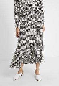 Lovechild - YOKO SKIRT - Maxi skirt - black - 0