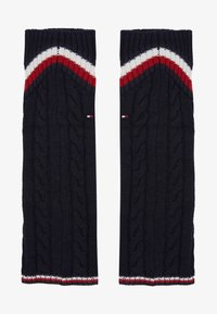 Tommy Hilfiger - LEG WARMERS CABLE - Leg warmers - navy - 1
