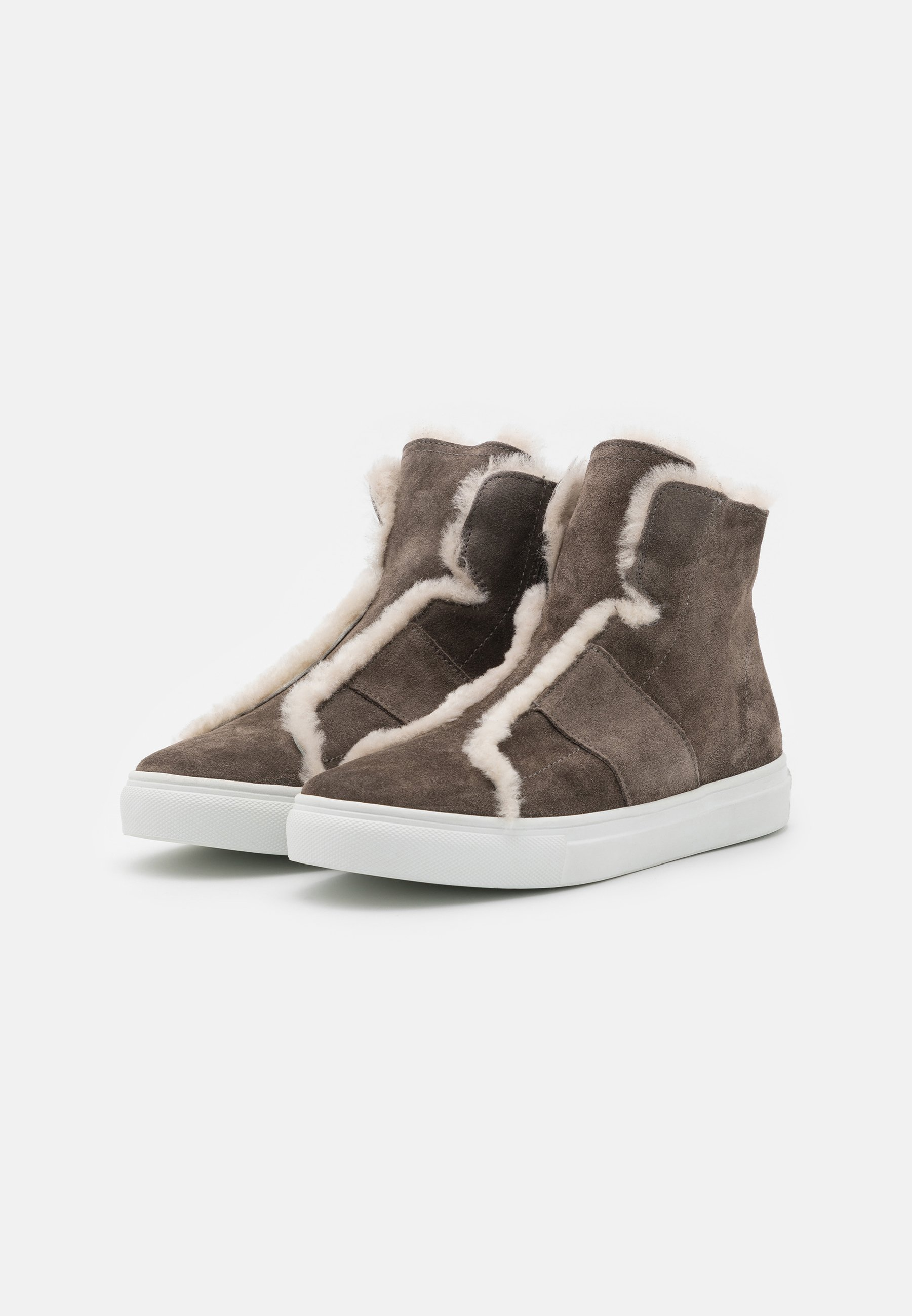 Kennel + Schmenger BASKET Ankle Boot piombo/weiß/taupe