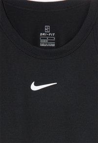 Nike Performance - DRY TANK - Sportshirt - black/white - 3