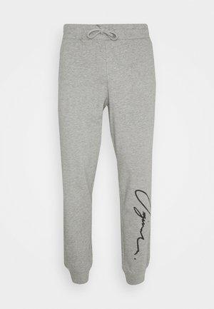 JORSCRIPTT PANTS  - Jogginghose - light grey melange