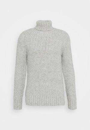 MENS  - Pullover - light grey melange