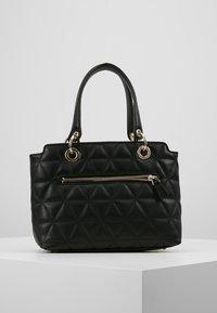 Guess - LAIKEN SMALL SATCHEL - Handbag - black - 2