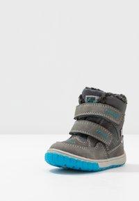 Lurchi - JAUFEN TEX - Winter boots - grey blue - 2