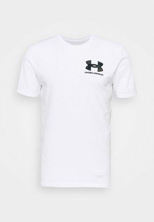 CAMO FILL WORDMARK - Print T-shirt - white