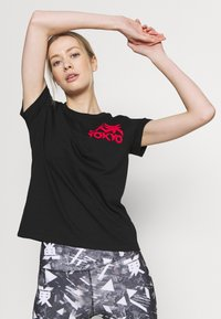 ASICS - FUTURE TOKYO TEE - T-shirt con stampa - performance black - 3