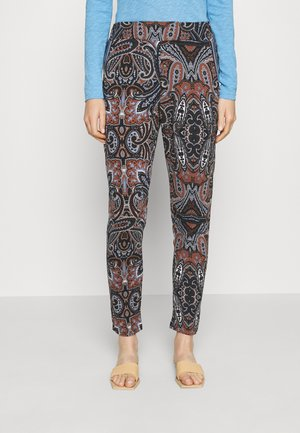 DELIA PANTS - Trousers - maritime blue