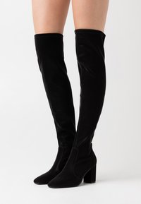Gioseppo - LAUSICK - Over-the-knee boots - black - 0