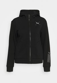 Puma - NU TILITY - Zip-up hoodie - black - 4