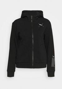 NU TILITY - Zip-up sweatshirt - black