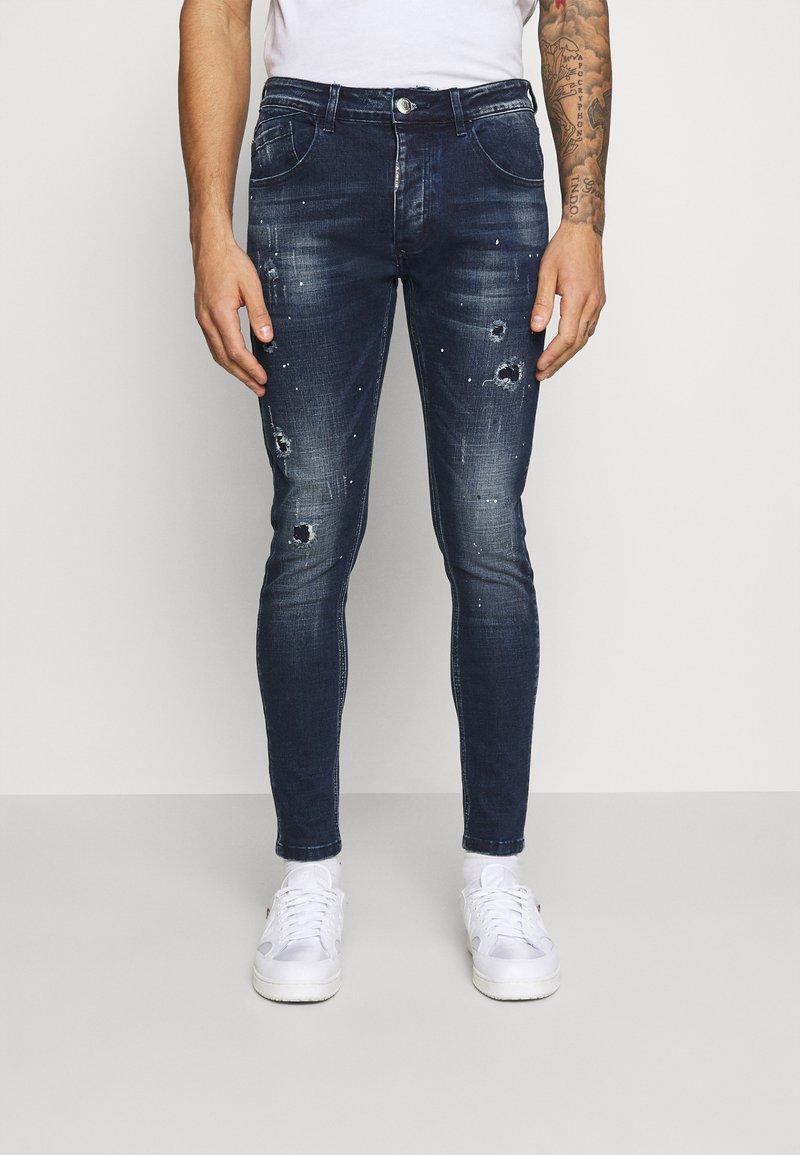 Alessandro Zavetti - SUPER SLIM  - Jeans Skinny Fit - indigo