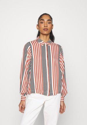 VMNIVA - Button-down blouse - chutney/black/birch
