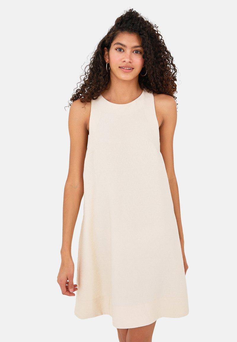 LC Waikiki - SLEEVELESS - Day dress - beige