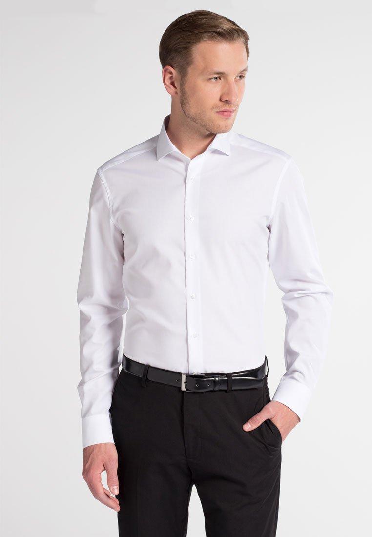 Eterna - SLIM FIT - Camicia elegante - weiß