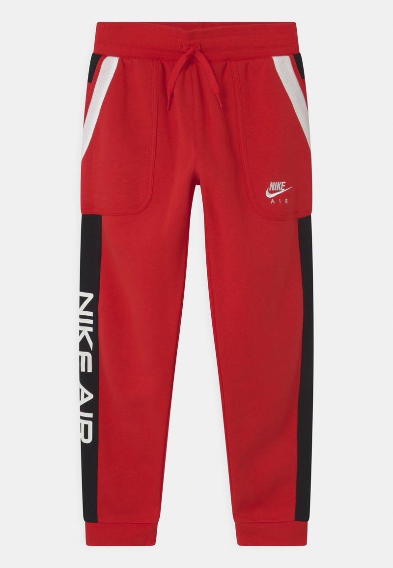 Nike Sportswear - AIR - Pantalones deportivos - university red/black/white