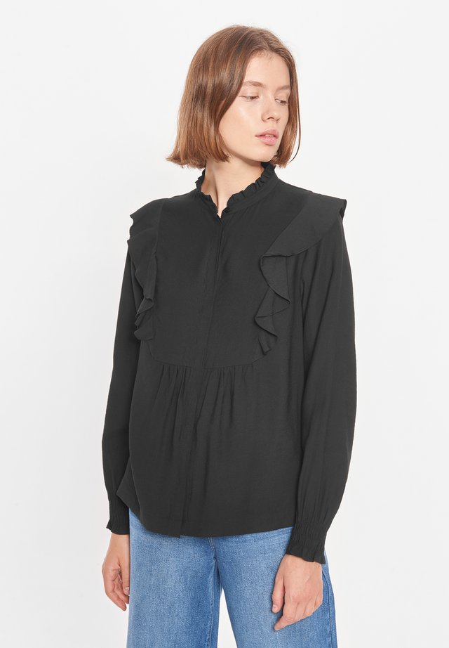 BARBARA - Overhemdblouse - black