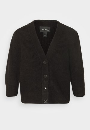 PUFFY CARDIGAN - Cardigan - black