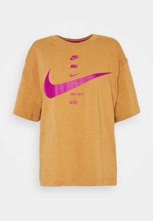 Camiseta estampada - flax cactus