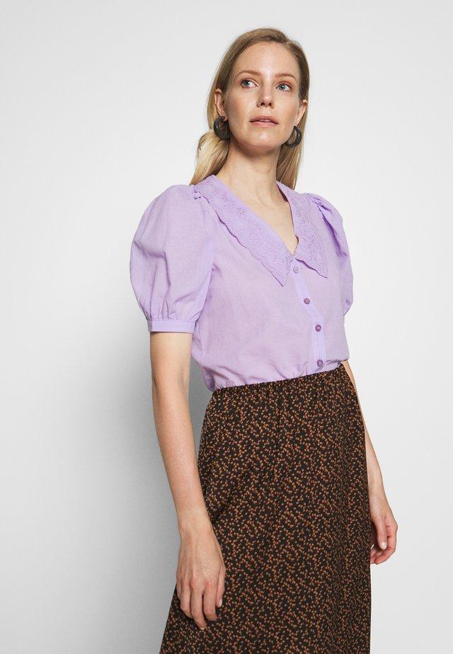 TWOSS - Button-down blouse - lila
