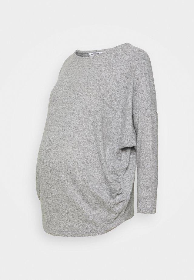 COSY - Bluzka z długim rękawem - grey