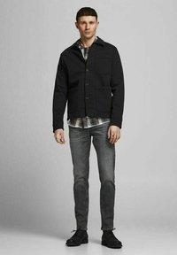 Jack & Jones - TIM  - Slim fit jeans - black denim - 1