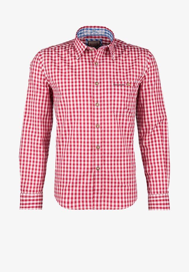 RUFUS - Shirt - dunkelrot