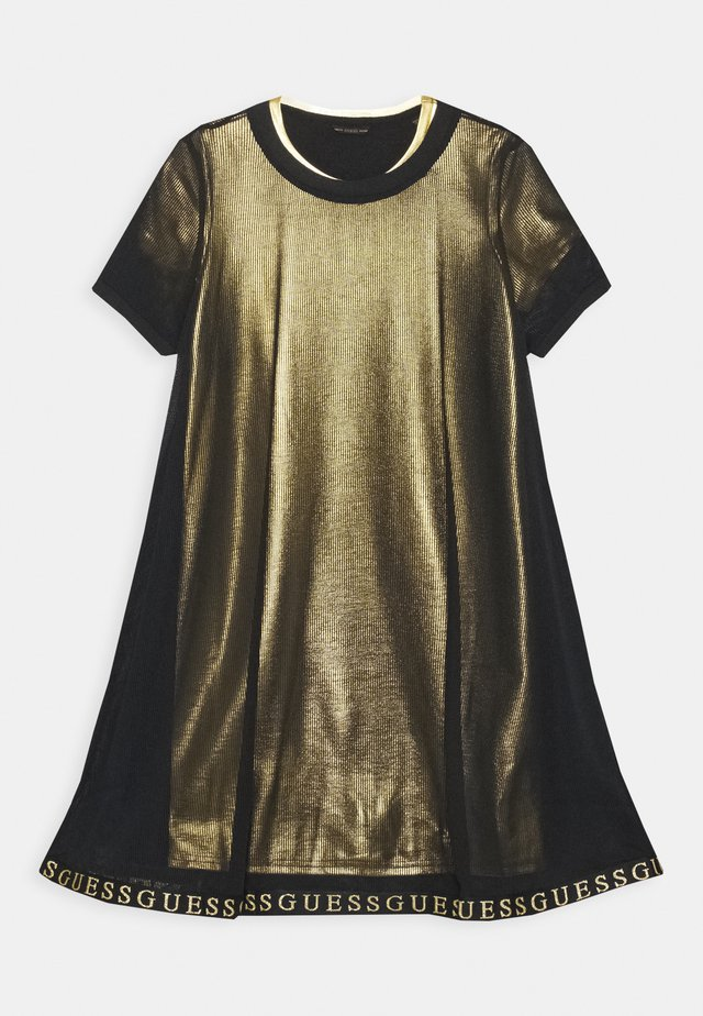 JUNIOR DOUBLE DRESS - Sukienka letnia - jet black