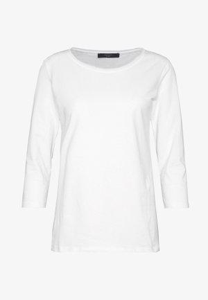 MULTIA - Camiseta de manga larga - weiß
