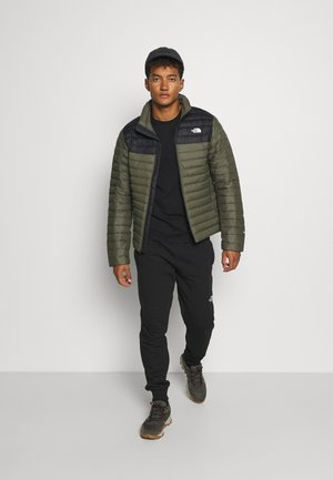 STRETCH JACKET - Down jacket - green/black