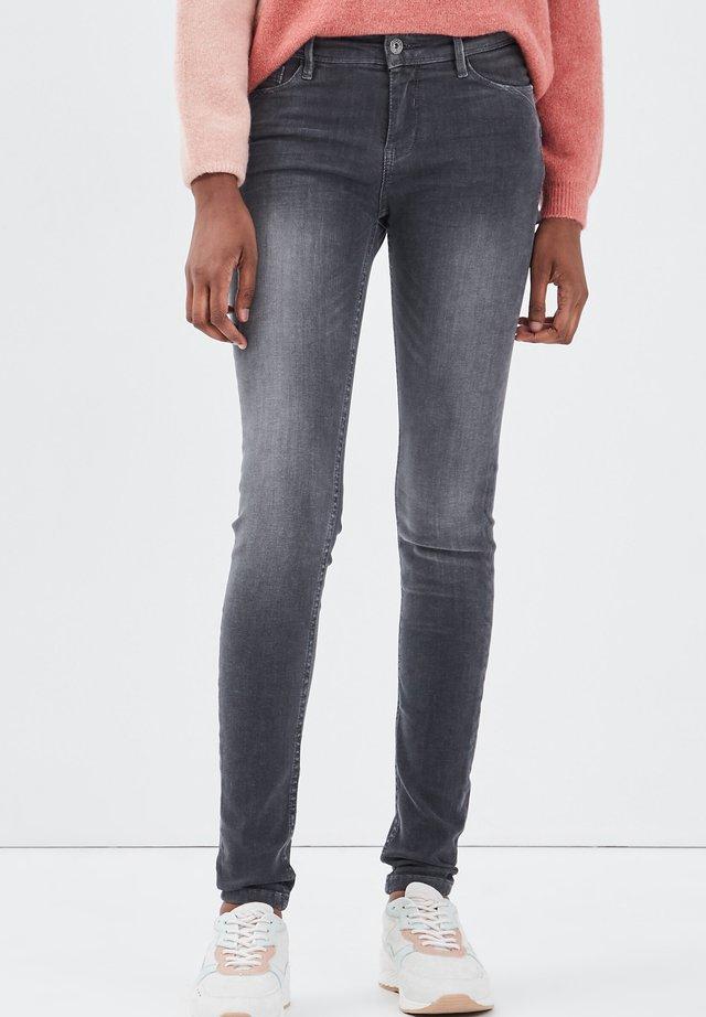 Jeans Skinny Fit - denim gris