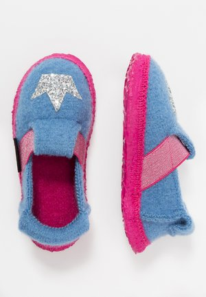 HEARTBREAK - Slippers - hellblau