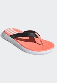 adidas Performance - COMFORT FLIP-FLOPS - T-bar sandals - black - 3