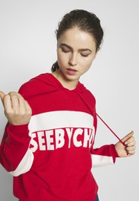 See by Chloé - Hoodie - white/red - 3
