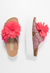 Colors of California - Heeled mules - pink - 3