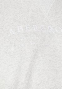 Abercrombie & Fitch - LOGO POPOVER - Hoodie - heather grey - 6