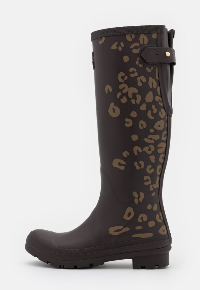 WELLY PRINT - Kumisaappaat - brown