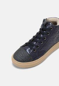 Friboo - LEATHER - Zapatillas - dark blue - 4