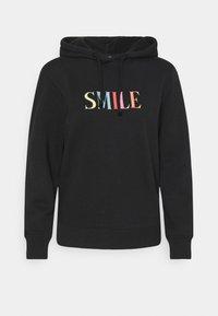 Marks & Spencer London - SMILE HOODY - Sweatshirt - black - 0