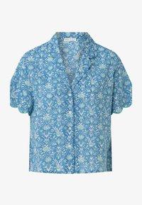 OYSHO - Button-down blouse - blue - 4
