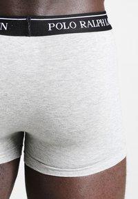 Polo Ralph Lauren - POUCH TRUNKS 3 PACK - Underkläder - andover heather/black/white - 2