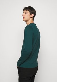 PS Paul Smith - MENS CREW NECK ZEBRA - Jumper - dark green - 2