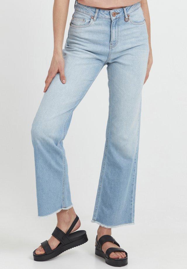 Jeans bootcut - light blue denim
