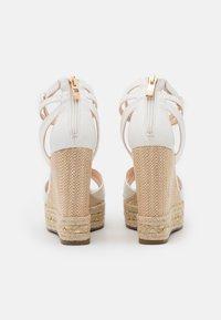 Tata Italia - Platform sandals - white - 3