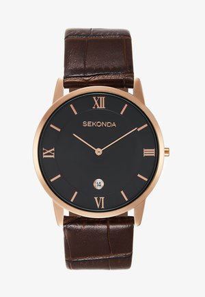 GENTS WATCH ROUND CASE - Klokke - brown