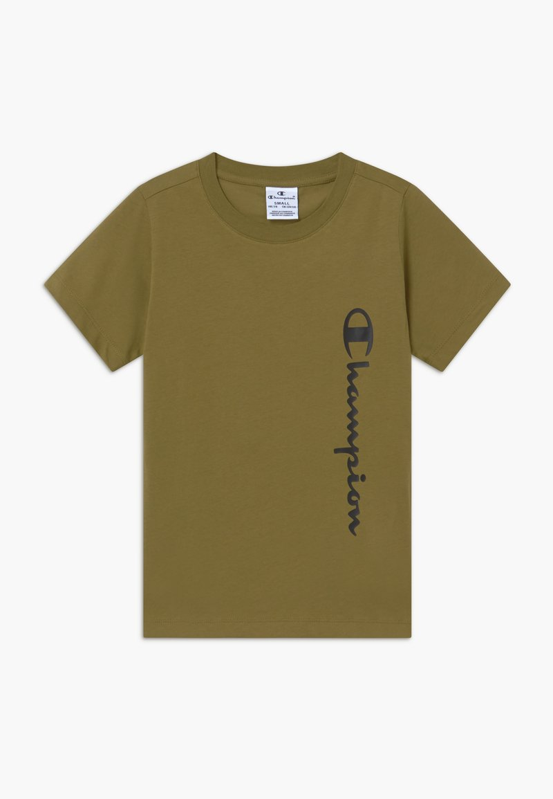 Champion - BREAKING RULES CREWNECK - Camiseta estampada - khaki
