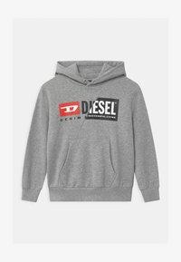Diesel - OVER UNISEX - Sweatshirt - grigio melange nuovo - 0
