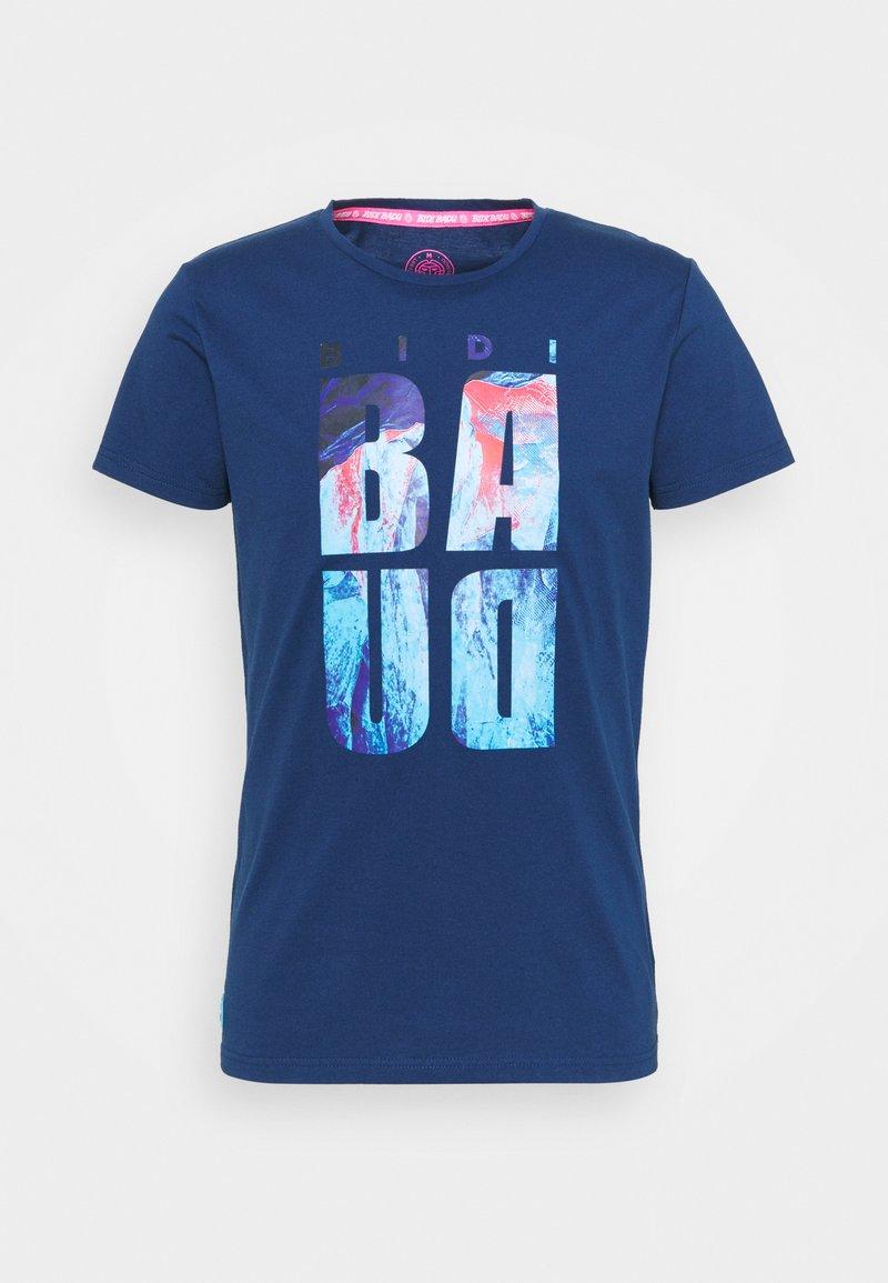 BIDI BADU - ALEKE LIFESTYLE TEE - Printtipaita - dark blue