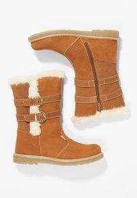 Friboo - Kotníkové boty - cognac - 0