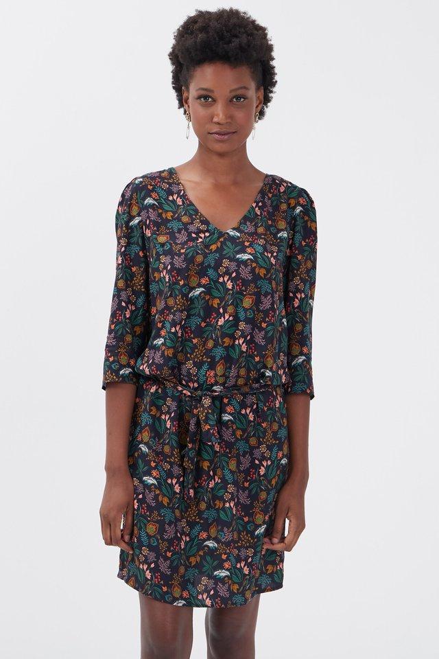 Korte jurk - multicolore